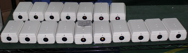production line box IP camera